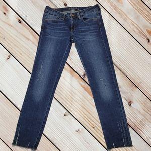 Zara Basic Z1975 Skinny Ankle Jeans Sz 6